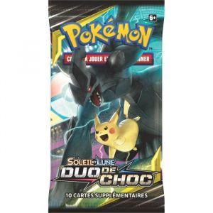Asmodée Booster - Pokémon Soleil & Lune 09 - Duo De Choc (Modèle Aléatoire)