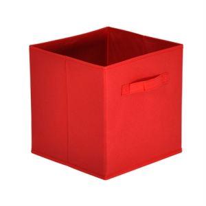 2 casiers de rangement Mona Colombus 4 en tissu