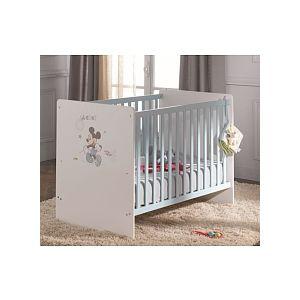 sauthon lit b b mickey 120 x 60 cm comparer avec. Black Bedroom Furniture Sets. Home Design Ideas