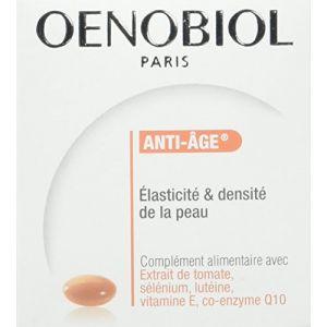 Oenobiol Anti-âge et élasticité et densité de la peau (Lot de 2 x 30 capsules)