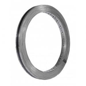 Simpson Strong-Tie Feuillard perforé inox larg.20mm ép.1mm long.10m - FPIX20/1/10