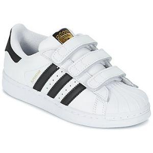 Adidas Superstar Foundation, Baskets Mixte Enfant, Blanc (Footwear White/Core Black/Footwear White), 28.5 EU