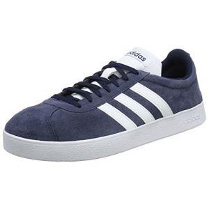 Adidas VL Court 2.0, Chaussures de Fitness Homme, Bleu (Maruni/Ftwbla 000), 44 EU
