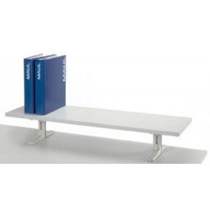 Maul 80032-82 board sur pieds version formica 120 cm coloris gris