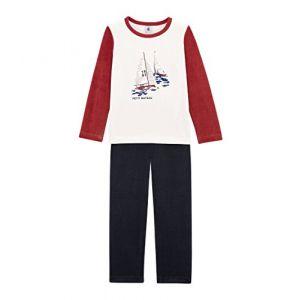 Petit Bateau PYJALONG Ensemble de Pyjama, Multicolore (Smoking/Multico 03), Taille Fabricant: 5A 5 Ans Garçon