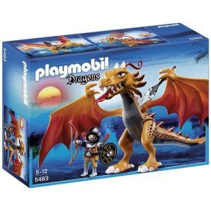 Playmobil 5483 Dragons - Dragon d'or avec soldat
