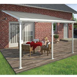 Chalet et Jardin Toit Couv'Terrasse avancée 4 x 4 m - 16,4 m2