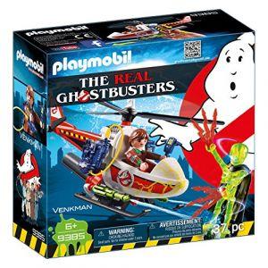 Playmobil 9385 - Ghostbusters : Venkman avec hélicoptère