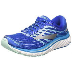 Brooks Glycerin 15, Chaussures de Running Femme, Bleu (Blue/Mint/Silver 1b484), 37.5 EU