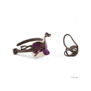 Schleich Horse Club Accessoire Selle & Bride Lisa & Storm, 42491, Multicolore