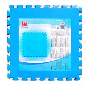 Bestway 58220 - 8 tapis de protection 50 x 50 cm