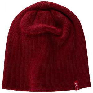 Levi's Bonnet - Mixte - Rouge - X-Large (Taille fabricant: L/XL)