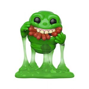 Funko Figurines Pop Vinyl: Movies: Ghostbusters: Slimer w/Hot Dogs Collectible Figure, 39333, Multi
