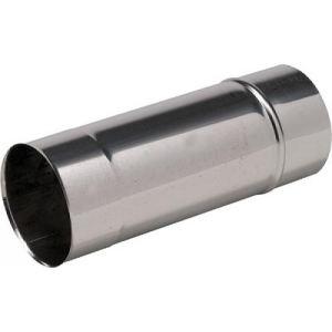 Ten 650125 - Tuyau rigide Inox 304 diamètre 125 Lg 500 mm Tous combustibles