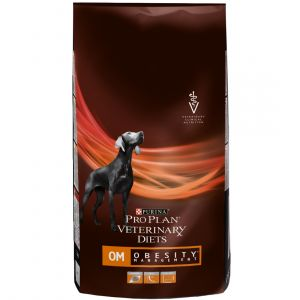 Purina PVD Chien OM Obesity Management - Sac 12 kg