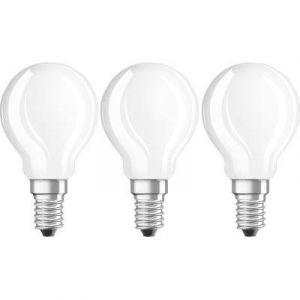 Osram Lot de 3 Ampoules LED E14 - 4W équivalent 40W