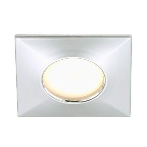 Briloner leuchten Spot encastrable LED pour salle de bain LED intégrée Briloner 7205-018 blanc chaud 5 W chrome