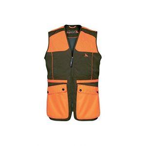 Verney-Carron Gilet de chasse ProHunt Grouse Kaki - Orange