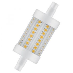 Osram Ampoule crayon LED 78 mm R7S 8 W équivalent a 75 W blanc chaud dimmable