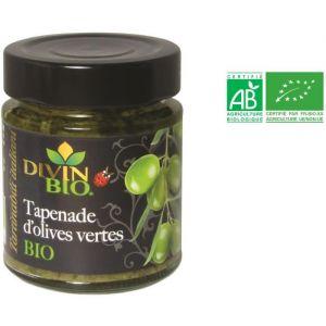 Divin Bio Tapenade aux olives vertes bio -130 g