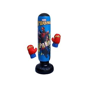 Absis SA Punching Ball + Gants Spiderman