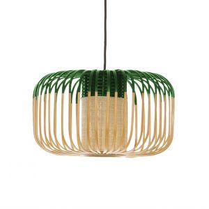 Forestier BAMBOO - Suspension d'extérieur Bambou/Vert H23cm - Luminaire d'extérieur designé par Arik Levy