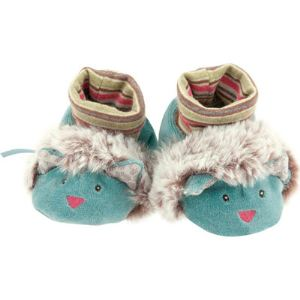 Moulin roty Chaussons Les pachats : Chat (0-6 mois)