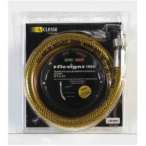 Eno P010630 - Kit de connexion en inox d'1 m pour plancha