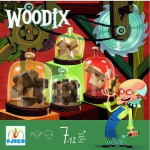 Djeco Casse-tête : Ensemble de casse-tête Woodix