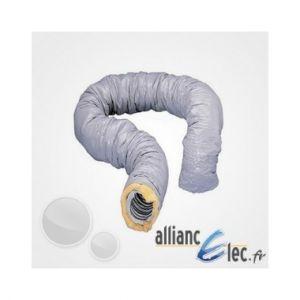 Atlantic Gaine isolée Aluminium diam,125 Calorifugé 6 Metres