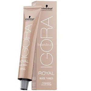 Schwarzkopf Igora Royal Nude Tones 4-46 Chatain Moyen Beige Marron - 60 ml