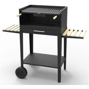 Fm BV-11 - Barbecue charbon bois sur chariot