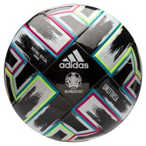 Adidas Uniforia Training Uefa Euro 2020 - Black / Signal Green / Bright Cyan / Shock Pink - Taille 5