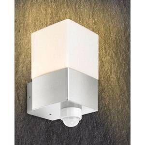 Licht Creativ Design GmbH Applique d'extérieur Linus inox avec détecteur