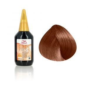 Wella Coloration des cheveux 7.74 Brun Marron Cuivré 75ml