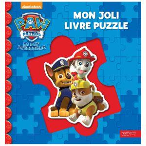 Hachette Mon livre puzzle Pat Patrouille