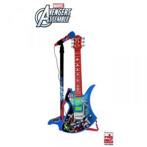 Reig Musicales Set guitare et micro Avengers