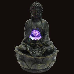 Zen Light Fontaine d'intérieur Feng Shui Bouddah Méditation