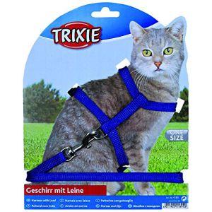 Trixie Harnais en nylon avec laisse pour chats
