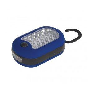 Silverline 464207 - Lampe 27 LED combinée