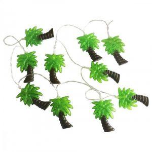 Guirlande à pile LED 10 palmiers