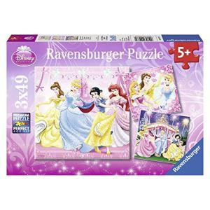 Ravensburger Puzzle Disney Princesse : Blanche-Neige et ses amies 3 x 49 pièces