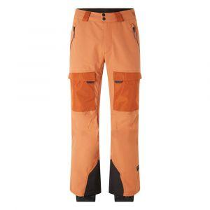 O'Neill PM Utlty Pants - Pantalon de ski taille M, orange/beige