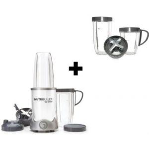 Nutribullet Blender 900W Blanc + Kit accessoires