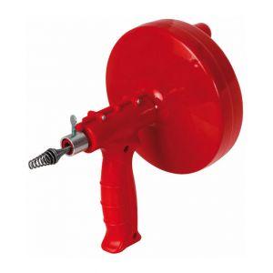 Heliotrade Deboucheur de canalisation evier WC a tambour avec axe pour perceuse