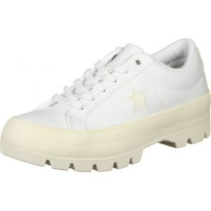 Converse One Star Lugged Ox chaussures Femmes blanc T. 38,5