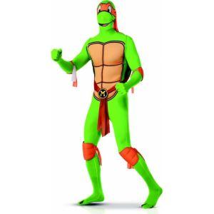 Déguisement Michelangelo Tortues Ninja second peau adulte