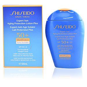 Shiseido WetForce Expert Anti-Age Solaire Lait Protecteur Plus SPF 50+ 100ml