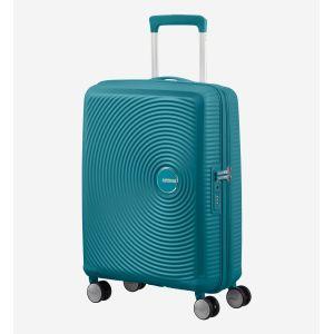 American Tourister Valise rigide cabine extensible Soundbox 4R 55 cm Bleu