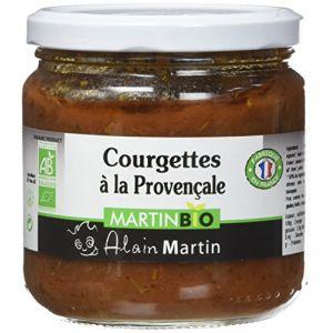 Alain Martin Courgettes à la Provençale BIO 400 g - Lot de 3